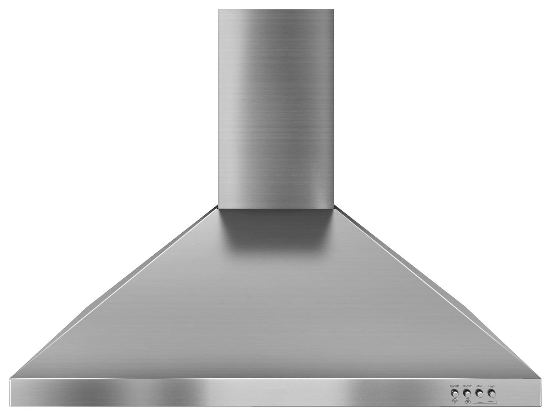 Unbranded - 30 Externally Vented Range Hood - Stainless Steel (Silver)