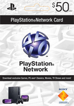 Sony Computer Entertainment America - PlayStation Network Code for PlayStation 3 and PSP ($50) (Downloadable Content)