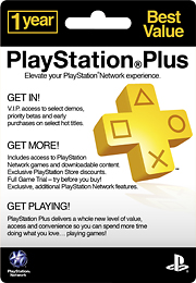 1 Year Playstation Plus Membership Card Reviews