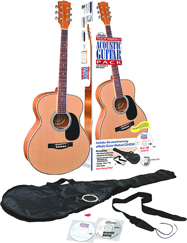 eMedia - Teach Yourself Acoustic Guitar Pack (Steel-String) - Silver