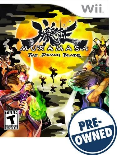 Muramasa: The Demon Blade - PRE-Owned - Nintendo Wii