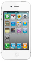 Apple - iPhone 4 Mobile Phone with 8GB Memory (Unlocked) - White