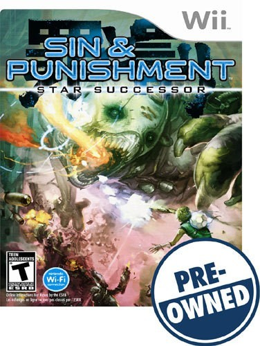 Sin and Punishment: Star Successor - PRE-Owned - Nintendo Wii