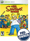 The Simpsons Game PRE-OWNED - Xbox 360