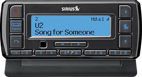 Sirius - Stratus 7 Satellite Radio with PowerConnect Vehicle Kit - Black