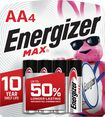 Buy Energizer MAX Batteries AA (4-Pack)