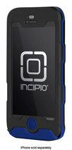 Incipio - ATLAS Waterproof Case for Apple iPhone 5 - Black/UV Blue