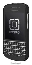 Incipio - feather Snap-On Case for BlackBerry Q10 Mobile Phones - Obsidian Black