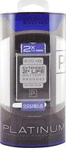 Platinum Series - Extended Life Lithium-Polymer Battery for HTC EVO Mobile Phones