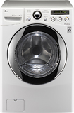 LG - 3.7 Cu. Ft. 9-Cycle Large Capacity Washer - White