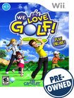 We Love Golf - PRE-OWNED - Nintendo Wii