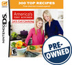 America's Test Kitchen: Let's Get Cooking - PRE-OWNED - Nintendo DS