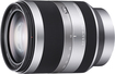 Sony - 18-200mm f/3.5-6.3 Alpha E-Mount Lens for Sony Alpha NEX DSLR Cameras - Silver