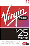 Virgin Mobile - $25 Top-Up Card