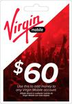 Virgin Mobile - $60 Top-Up Card
