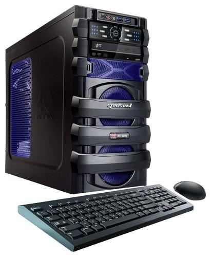 CybertronPC - 5150 Unleashed Desktop - AMD FX-Series - 8GB Memory - 1TB Hard Drive - Blue