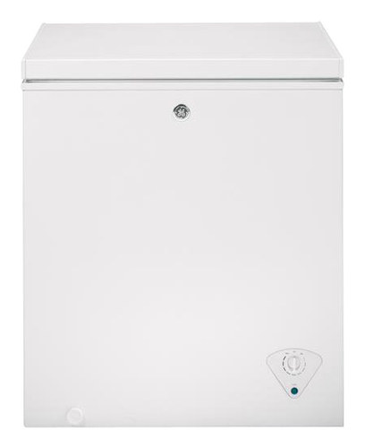 GE - 5.0 Cu. Ft. Chest Freezer - White