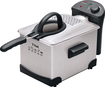 T-Fal - Easy Pro 3-Liter Enamel Deep Fryer - Stainless-Steel