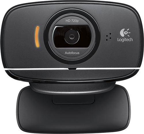 Logitech - HD Webcam C525 - Black