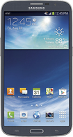 Samsung - Galaxy Mega 4G with 16GB Memory Cell Phone - Black (AT&T)
