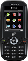 NET10 - Samsung 404G No-Contract Mobile Phone - Black