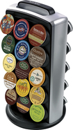 Keurig - K-Cup Carousel Tower - Black/Gray
