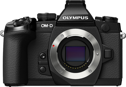 Olympus - OM-D E-M1 Mirrorless Camera (Body Only) - Black