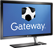 Gateway FHD2303L 23 inch 1080p HD LCD-LED Widescreen Monitor with 5ms Response Time, 2,000,000:1 Dynamic Contrast Ratio, HDMI