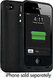 mophie - Juice Pack Plus for Apple iPhone 4 - Black