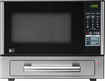 LG - 11 Cu Ft Mid-Size Microwave - Stainless-Steel