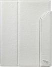 Rocketfish - Folio Case for Apple iPad Air - White