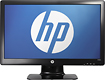 "HP - 23"" Flat-Panel LED HD Monitor - Glossy Black"