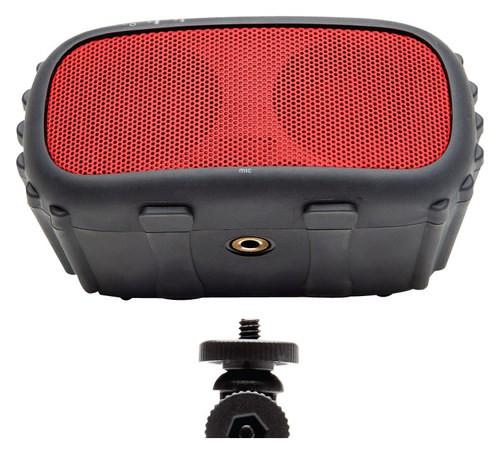 Ecoxgear - Ecorox Waterproof Bluetooth Speaker - Red