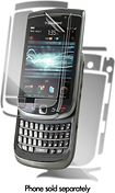 ZAGG - InvisibleSHIELD Maximum Surface Protector for BlackBerry Torch Mobile Phones - Clear