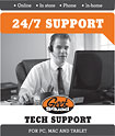 Geek Squad - Tech Support Membership (1 Year)