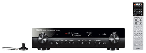 Yamaha - 475W 5.1-Ch. 4K Ultra HD and 3D Pass-Through A/V Home Theater Receiver - Black