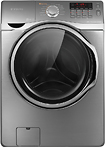 Samsung 39 Cu Ft 13 Cycle High Efficiency Steam Washer   Stainless