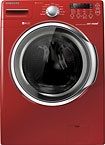 Samsung - 3.7 Cu. Ft. 9-Cycle Ultra Capacity High-Efficiency Washer - Red