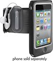 Belkin - FAST FIT ARMBAND LEATHER CASE - Black