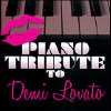 Piano Tribute to Demi Lovato - Various - CD