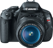 Canon - EOS Rebel T3i 180-Megapixel DSLR Camera with 18-55mm Lens - Black