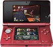 Nintendo - 3DS (Flame Red)