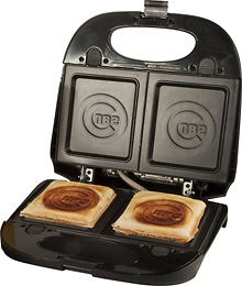 Chicago Cubs Sandwich Press