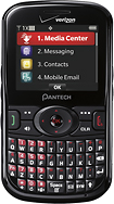Verizon Wireless Prepaid - Pantech Caper No-Contract Mobile Phone - Black