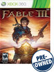 Fable III - PRE-OWNED - Xbox 360