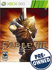 Fable III PRE-OWNED - Xbox 360