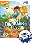 Go, Diego, Go: Great Dinosaur Rescue - PRE-OWNED - Nintendo Wii