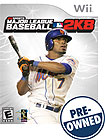 Major League Baseball 2K8 - PRE-OWNED - Nintendo Wii