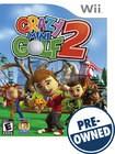 Crazy Mini Golf 2 - PRE-OWNED - Nintendo Wii