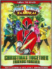 Power Rangers Samurai: Christmas Together, Friends Forever - DVD